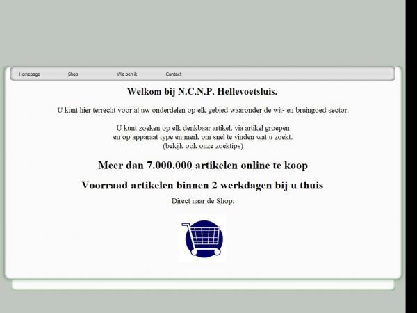 Website van NCNP Hellevoetsluis
